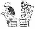 Boy/Girl Reading