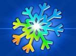 Colorful Snowflake