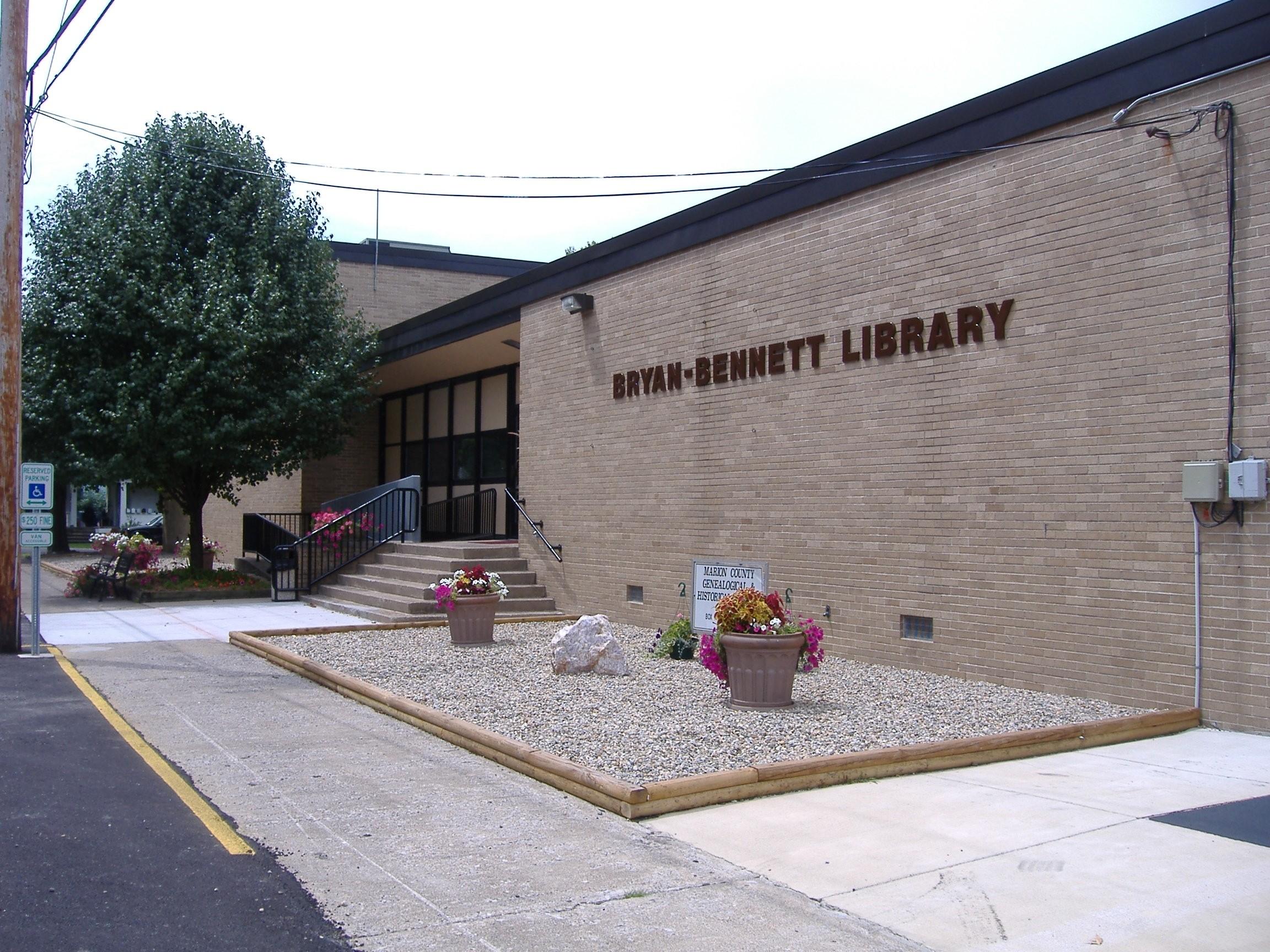Bryan-Bennett Library Exterior