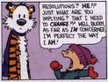 Calvin New Year
