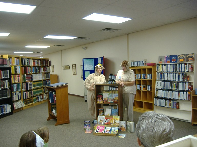 Minnie & Moo - A Night at the Library